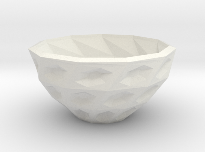 Twisted bowl 3d printed