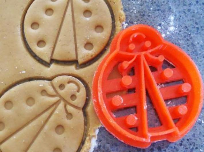 Ladybug Cookie Cutter 3d printed