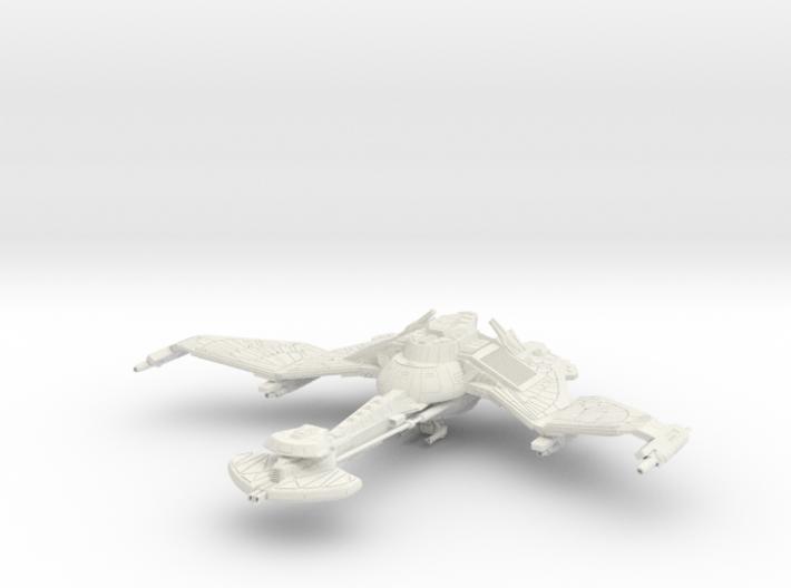 Vor'Tile Class IV BattleCruiser Wings Up 3d printed