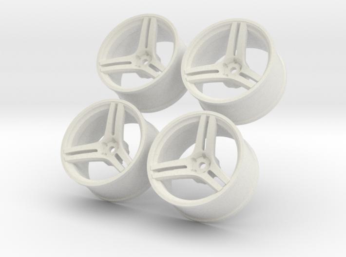1/10 Touring Car Vossen VPS317 Wheels Set 3d printed