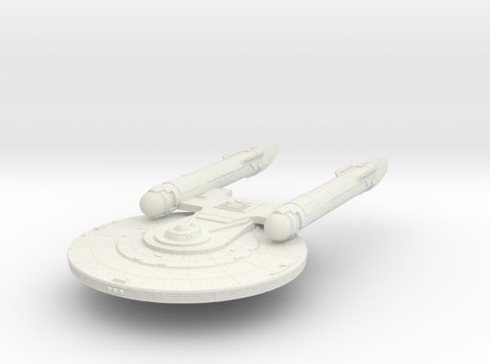 Baker Class REFIT New Axanar Ship 3d printed