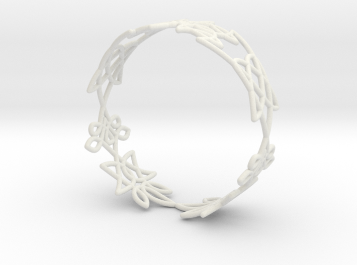 Celtic knots Cuff 1 3d printed