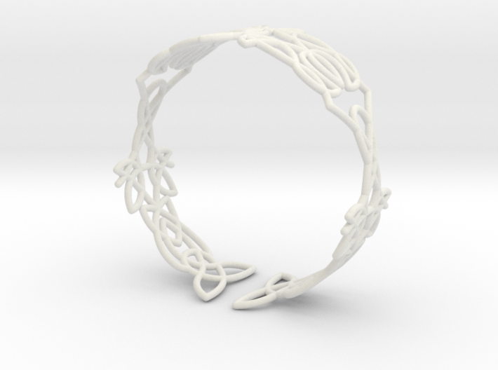 Celtic knots Cuff 5  3d printed