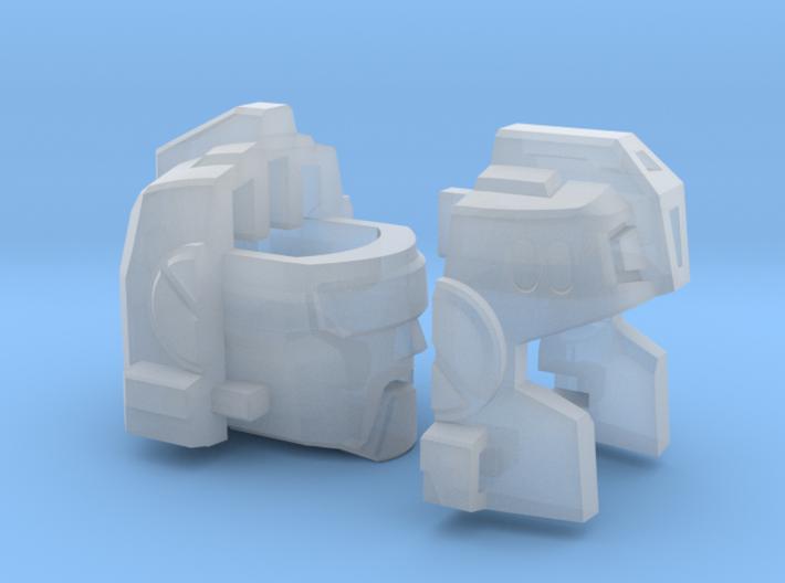Aerial Aggressor's Head 3d printed