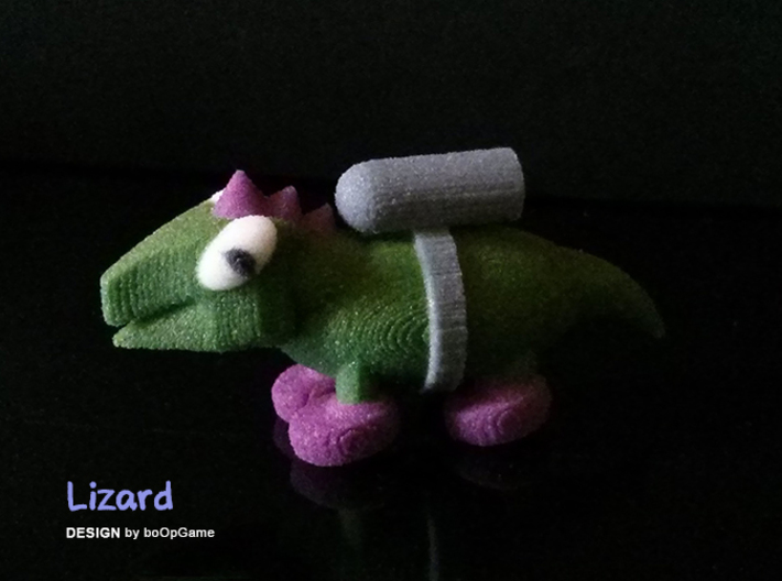 boOpGame Shop - The Lizard 3d printed boOpGame - The Lizard