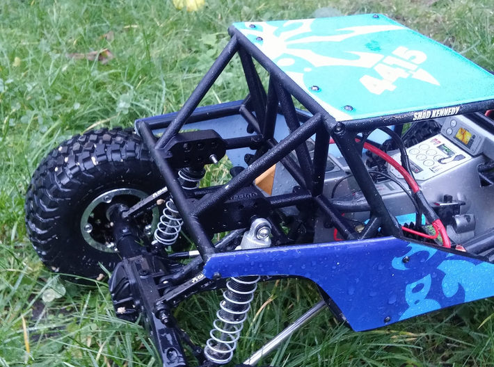 Axial Wraith Fastback Full Conversion kit V1 3d printed