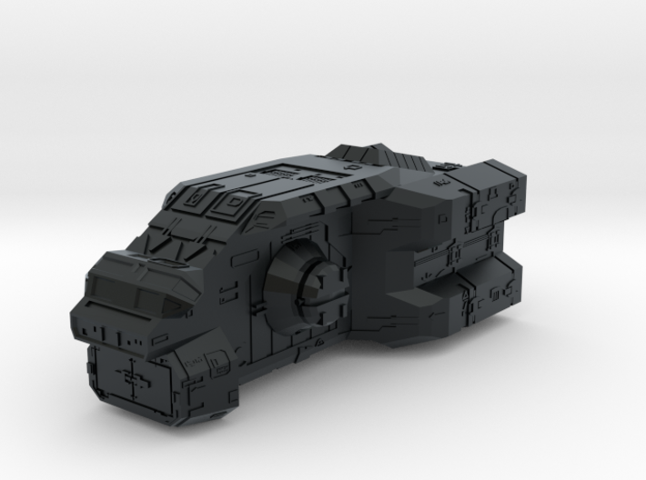 "Turanic Raider ""Thief"" Corvette 3d printed"