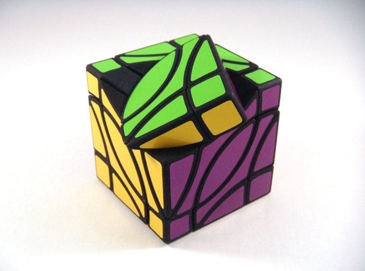 4 Corners Cube Puzzle 3d printed Turn Type A