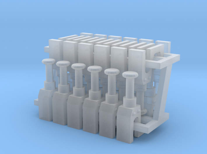 Talgo Bogie - Set of 12 - Zscale 3d printed