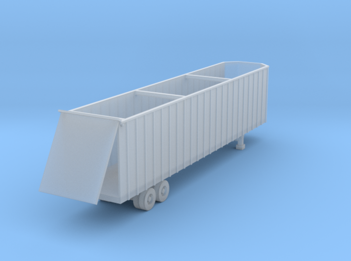 48 foot Woodchip Trailer 2 - Zscale 3d printed