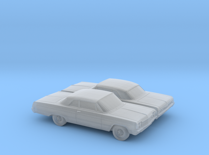1/160 2X 1964 Chevrolet Impala Coupe 3d printed