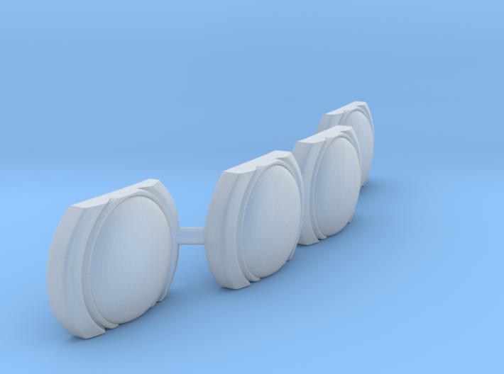 Futurliner Front Lights 3d printed
