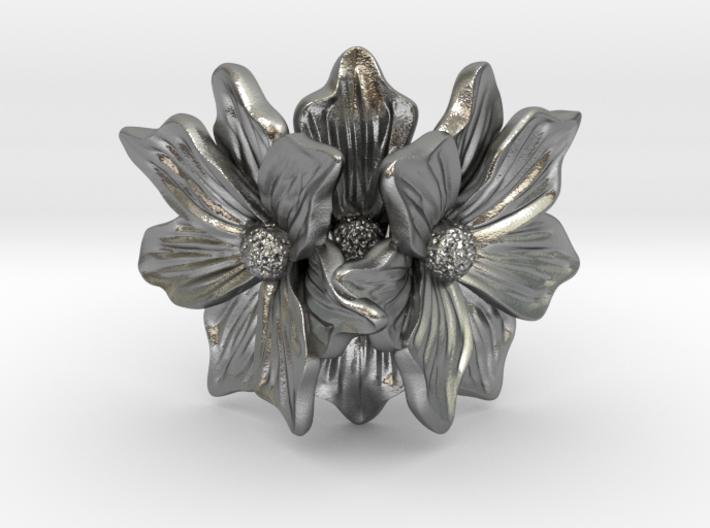 Flower of love 3d printed