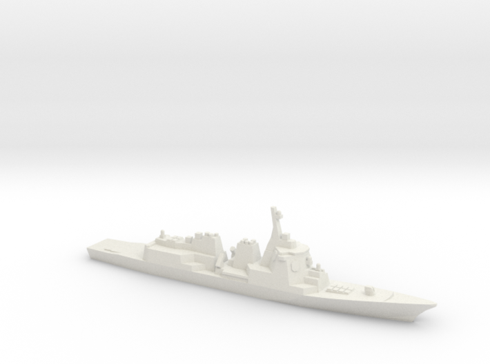 Atago-class Destroyer, 1/1800 3d printed