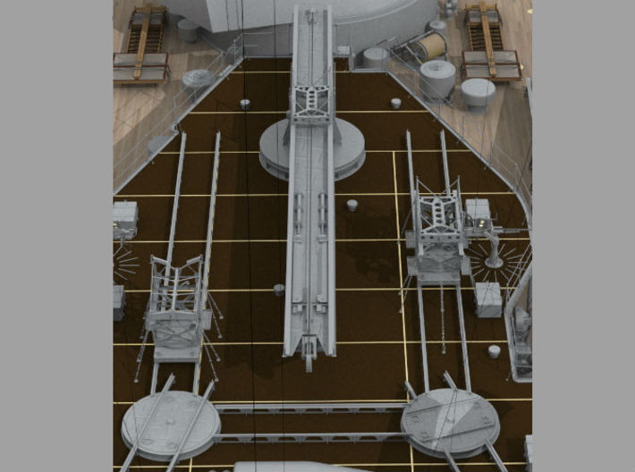 1/32 IJN Trolley & Trailer for Two Float Plane 3d printed