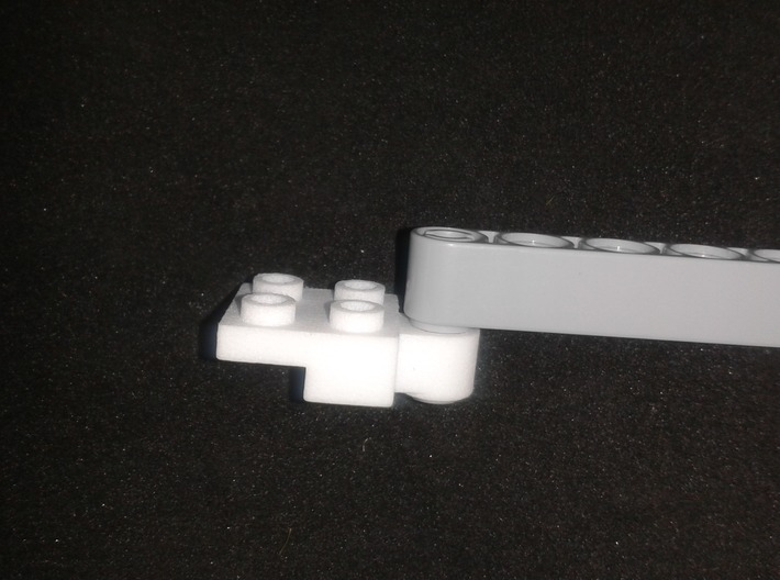Holder for steering part from top 3d printed Example with LEGO