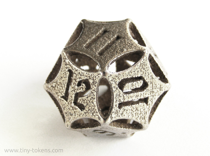 'Kaladesh' D12 Energy Counter die 3d printed