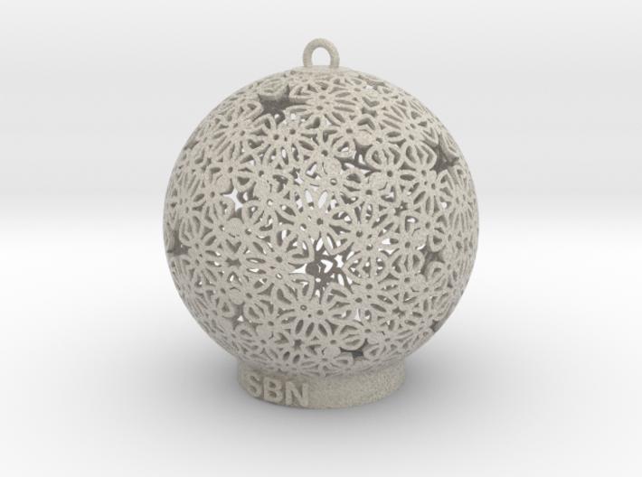 SBN Deco Ornament 3d printed