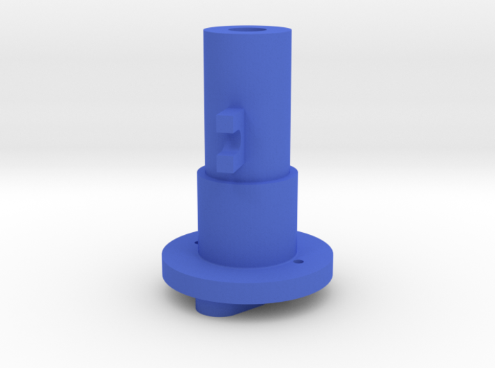Thrustmaster joystick tailpiece 15° offset 3d printed