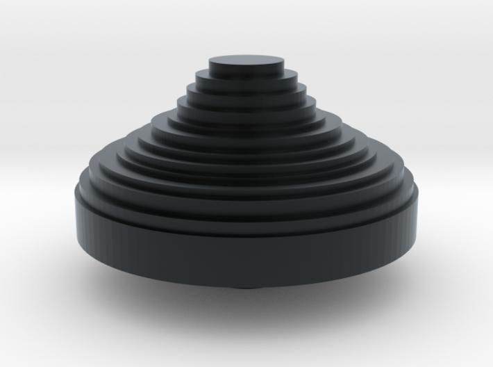 POV switch CHINA hat 3d printed