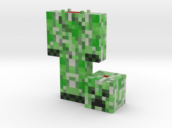 Green Stalker- Blow Up Print 3d printed