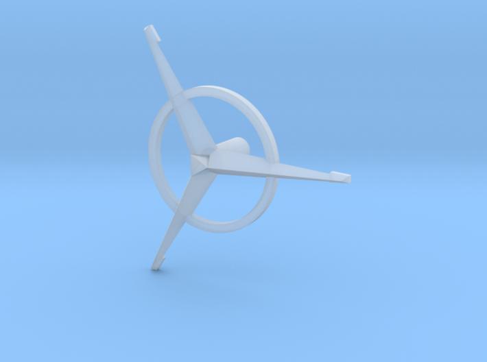 Bridge - Helm Nav Station Astrogator Spinner 09 3d printed