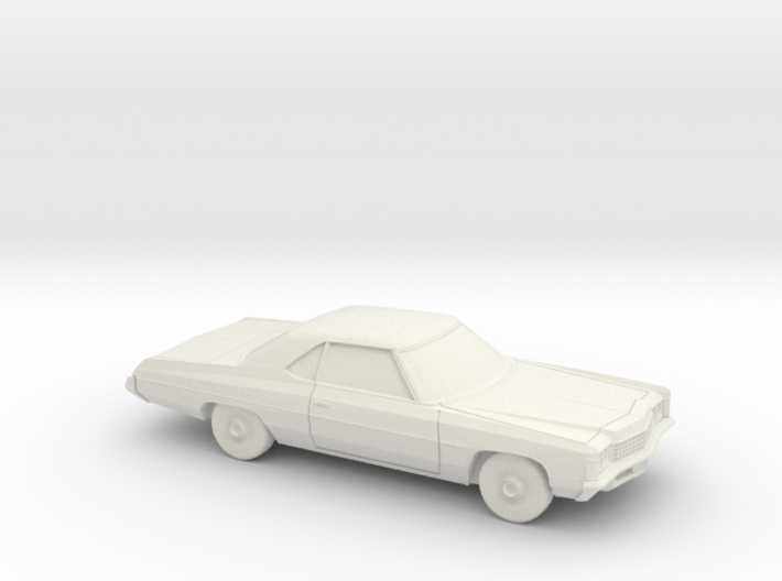 1/87 1971 Chevrolet Impala Sport Coupe 3d printed
