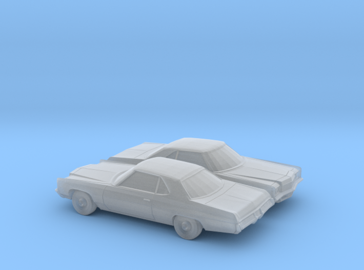 1/160 2X 1971 Chevrolet Impala Sport Coupe 3d printed