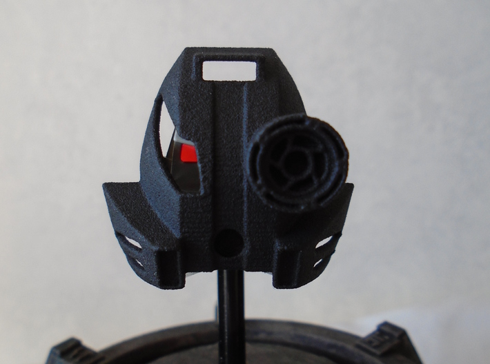 [commission] Kanohi Kakama with Lens 3d printed