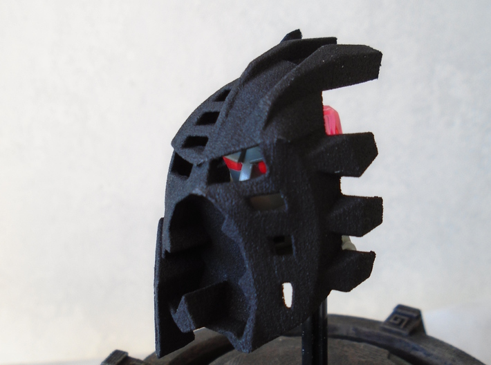 The Mask Of Light And Shadows V2 3d printed