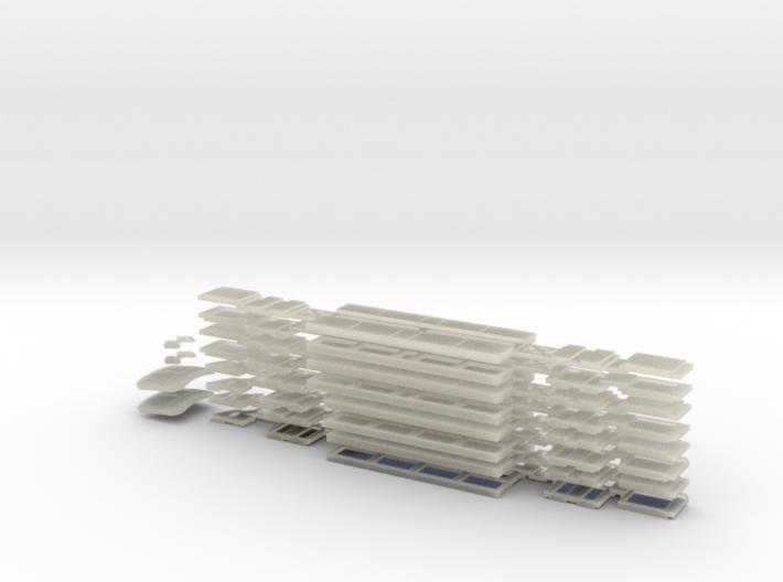 N04C - A Set Waratah - Cab glazing - Part C 3d printed