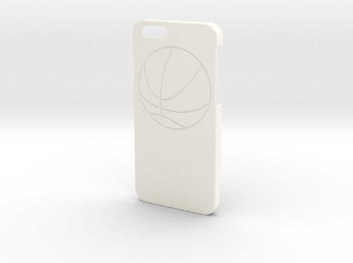 Iphone 6 Case - Name On The Back - Basketball 3d printed
