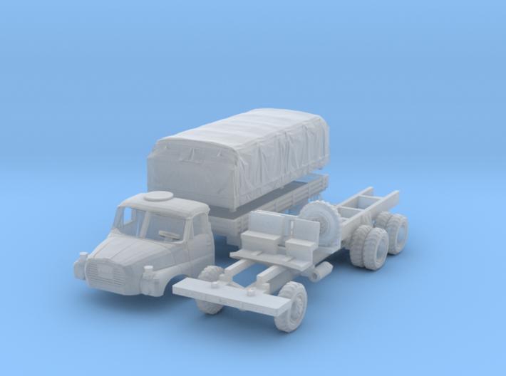 Tatra 148 VNM Pritsche mit Plane (1/144) 3d printed