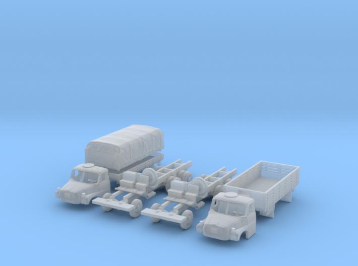SET 2x Tatra 148 VNM (1/144) 3d printed