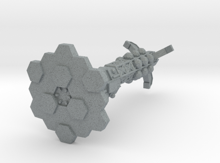 Caraval Class Heavy Ship of the Line-1:20000 3d printed