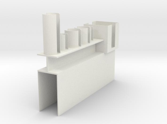 Vial Stand, Rev 1 3d printed