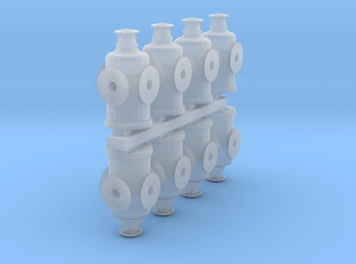 HO Scale Switch Lanterns 3d printed