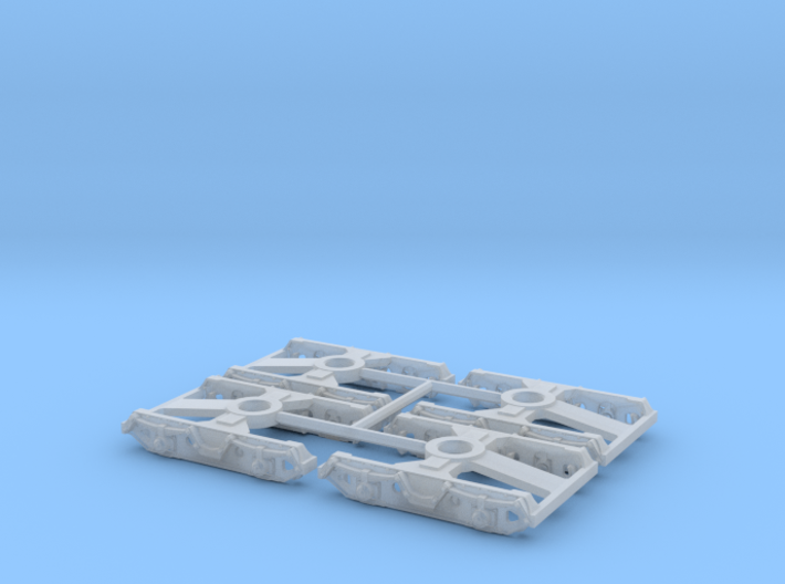 7112 N 4 Drehgestelle Minitrix OOt(z) 50 3d printed