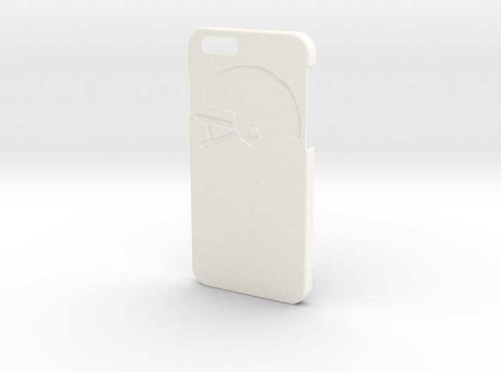 Iphone case - Name on the back - Football 3d printed
