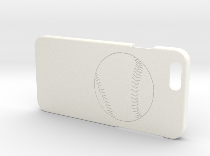 Iphone 6 Case - Name On The Back - Baseball1 3d printed