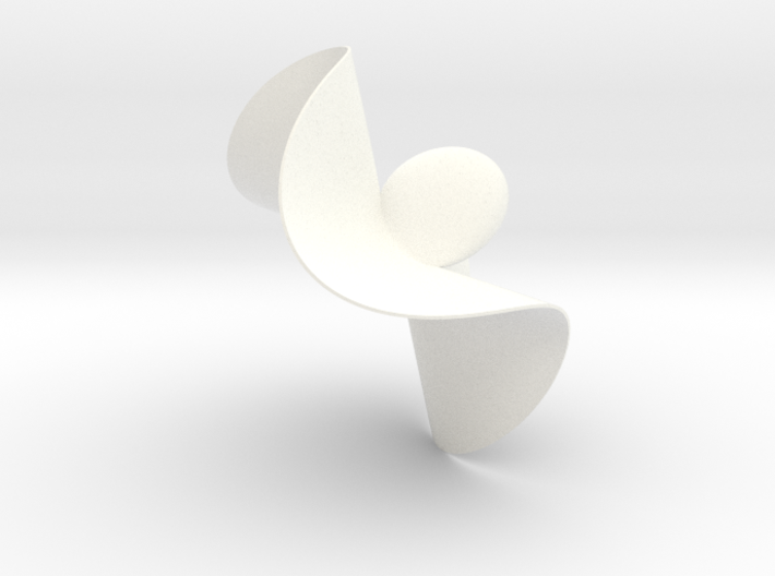 Henrici Cubic Surface 3d printed