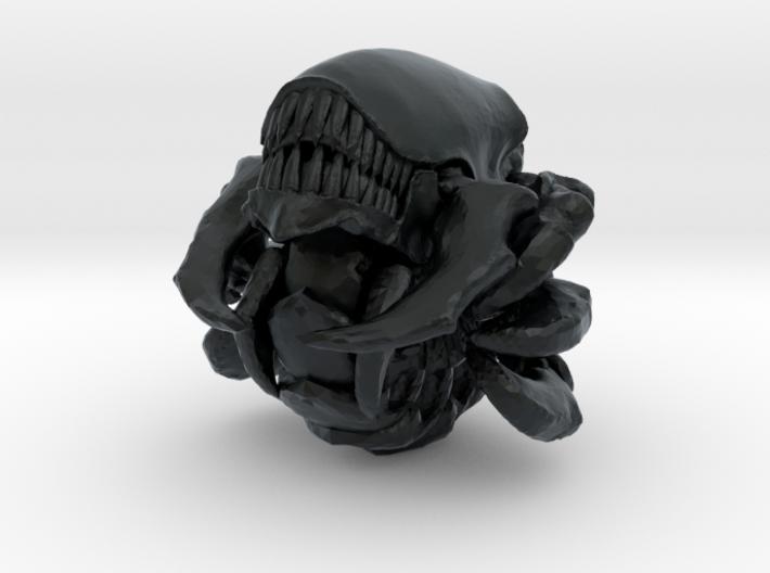 Absorberwurm 4 Cluster Sichelbiss offen zu Rollend 3d printed
