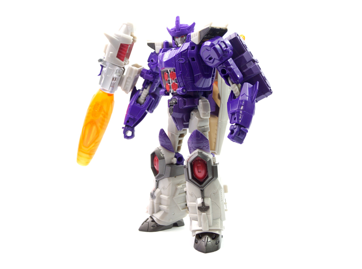 G1 Styled Helm for TR Galvatron 3d printed