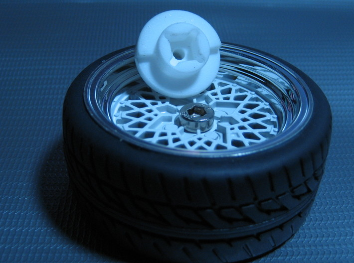 DX4 wheel adapter BS=13mm 3d printed
