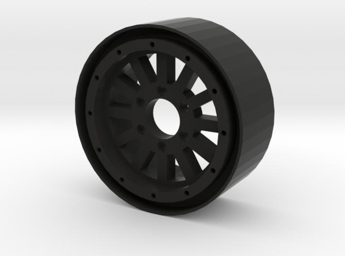 "1.9"" 12 Spoke beadlock wheel 3d printed"