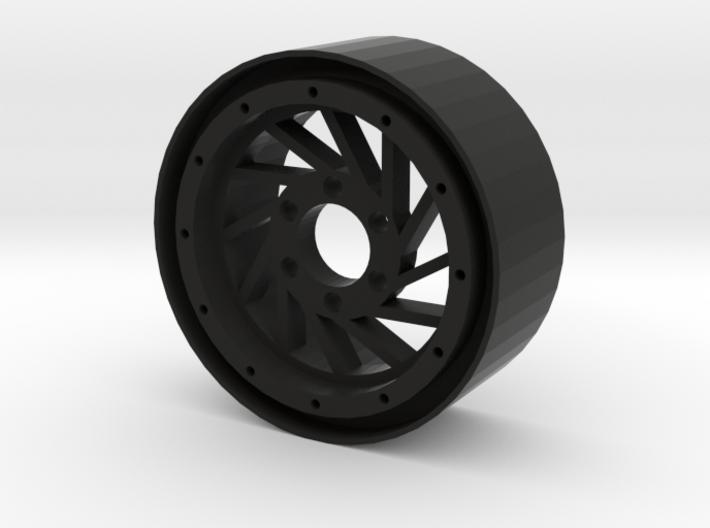 "1.9"" Hurricane beadlock wheel Right twist 3d printed"
