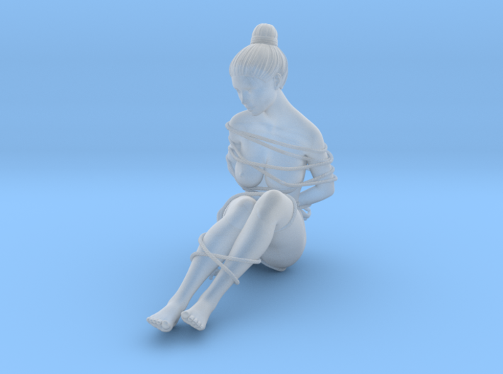 1:20 1:24 Rope with Girl 001 3d printed