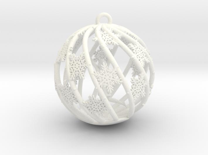 The Star Money Christmas Bulb 3d printed