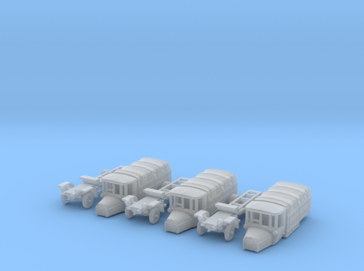 SET 3x Daimler DR4 1/2 (1/144) 3d printed
