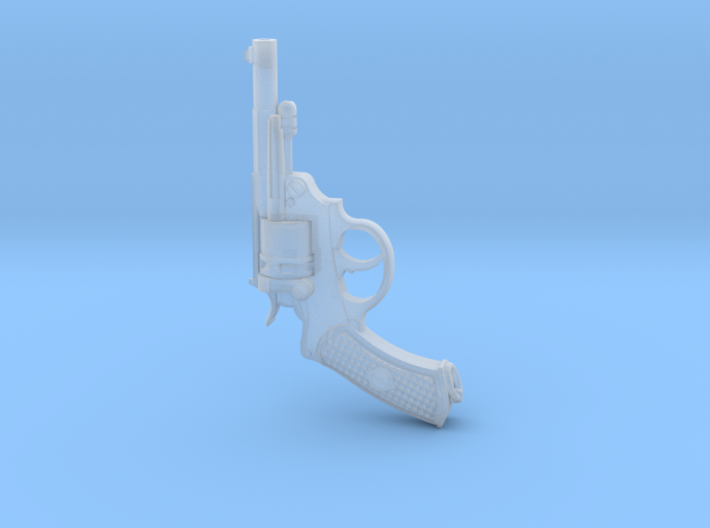 1/6 French Revolver 3d printed